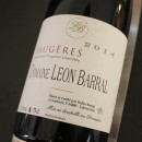 BARRAL ROUGE FAUGERES 2014