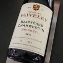 FAIVELEY ROUGE MAZIS CHAMBERTIN GRAND CRU 2015