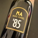 MAS AMIEL ROUGE MAURY CUVEE SPECIALE 1985
