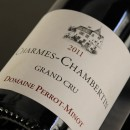 PERROT MINOT ROUGE CHARMES CHAMBERTIN VIEILLES VIGNES 2011