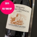 USSEGLIO ROUGE CHATEAUNEUF DU PAPE 2011