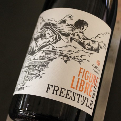 GAYDA ROUGE LANGUEDOC FIGURE LIBRE FREESTYLE 2017