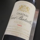 BATAILLEY ROUGE PAUILLAC 1989