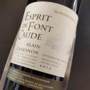 CHABANON ROUGE MONTPEYROUX L'ESPRIT DE FONT CAUDE 2015