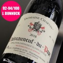 CHARVIN ROUGE CHATEAUNEUF DU PAPE 2018