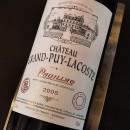 GRAND PUY LACOSTE ROUGE PAUILLAC 2005